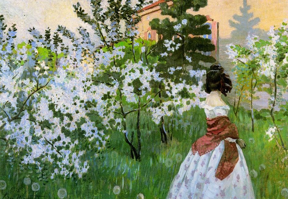 Весна на картинах. Виктор Борисов-Мусатов. «Весна», 1901