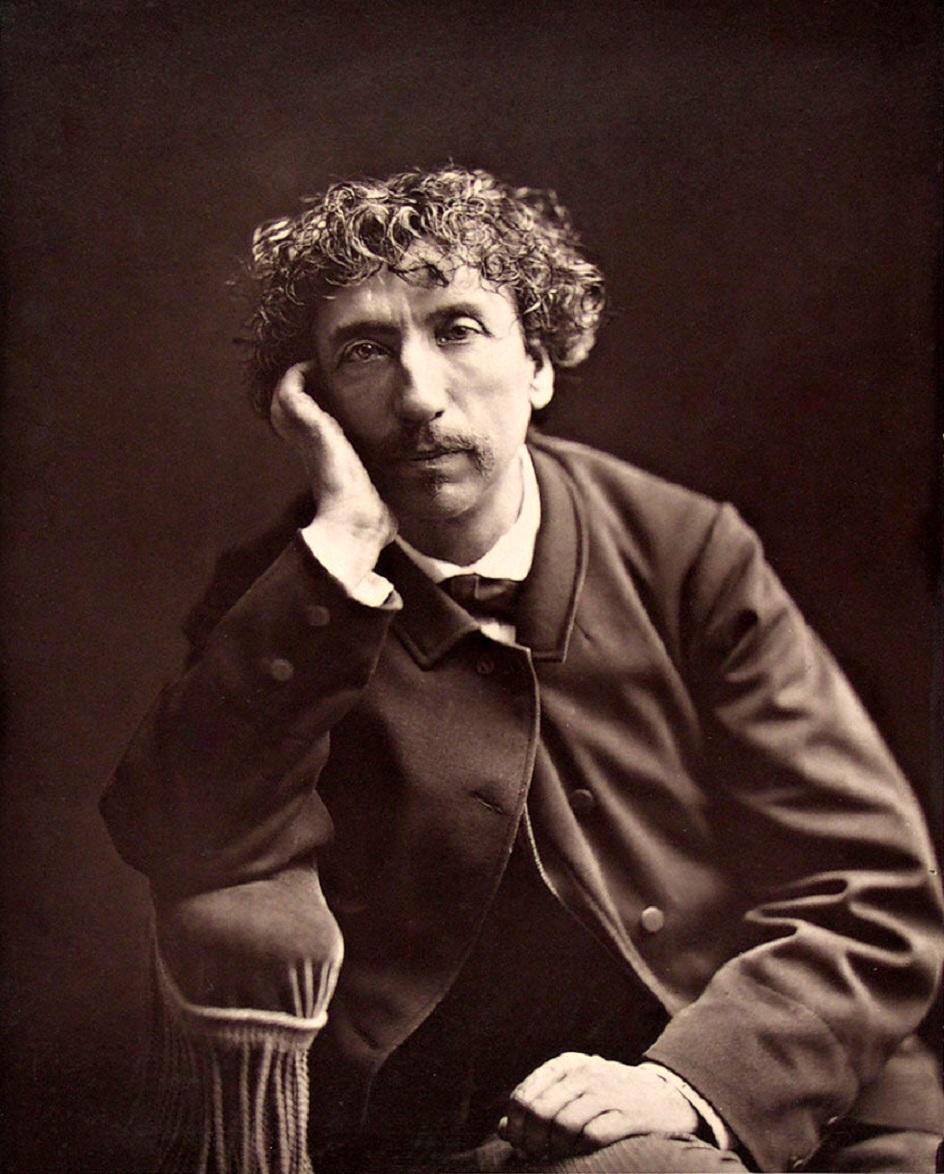 Шарль Гарнье. Фотография Шарля Гарнье работы Антуана Адам-Саломона, около 1870