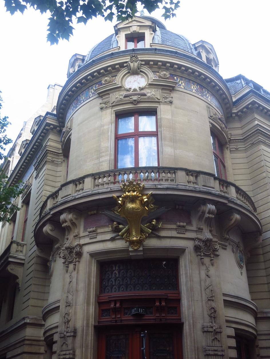 Шарль Гарнье. Книжный магазин на бульваре Сен-Жермен в Париже, 1878-80