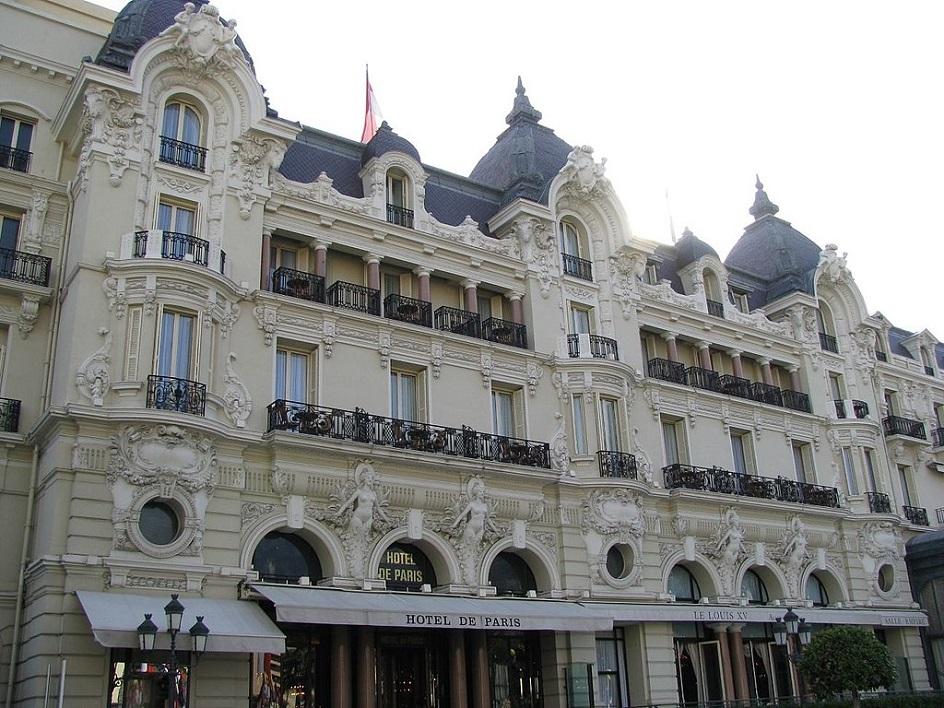Шарль Гарнье. Отель де Пари в Монте-Карло, 1863