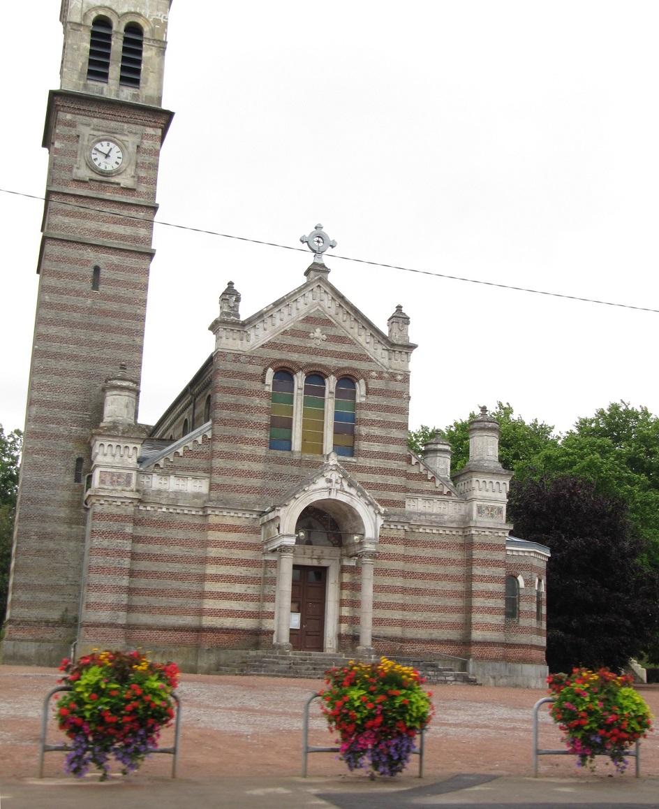 Шарль Гарнье. Церковь святого Гримони в Ла Капели, 1875
