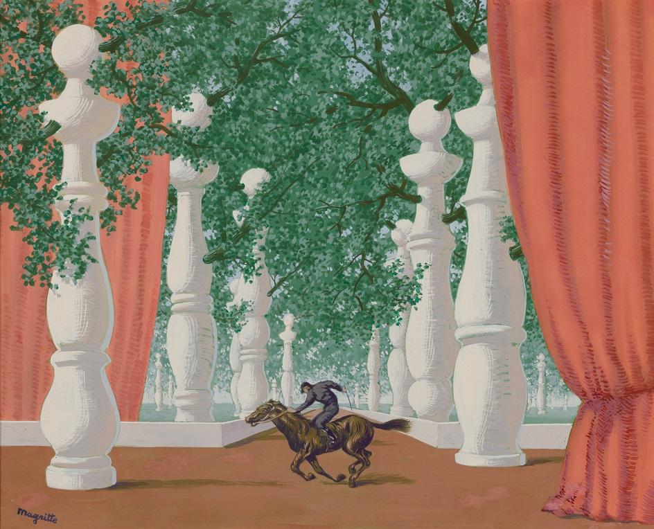 Сюрреализм. Рене Магритт. «Потерянный жокей»