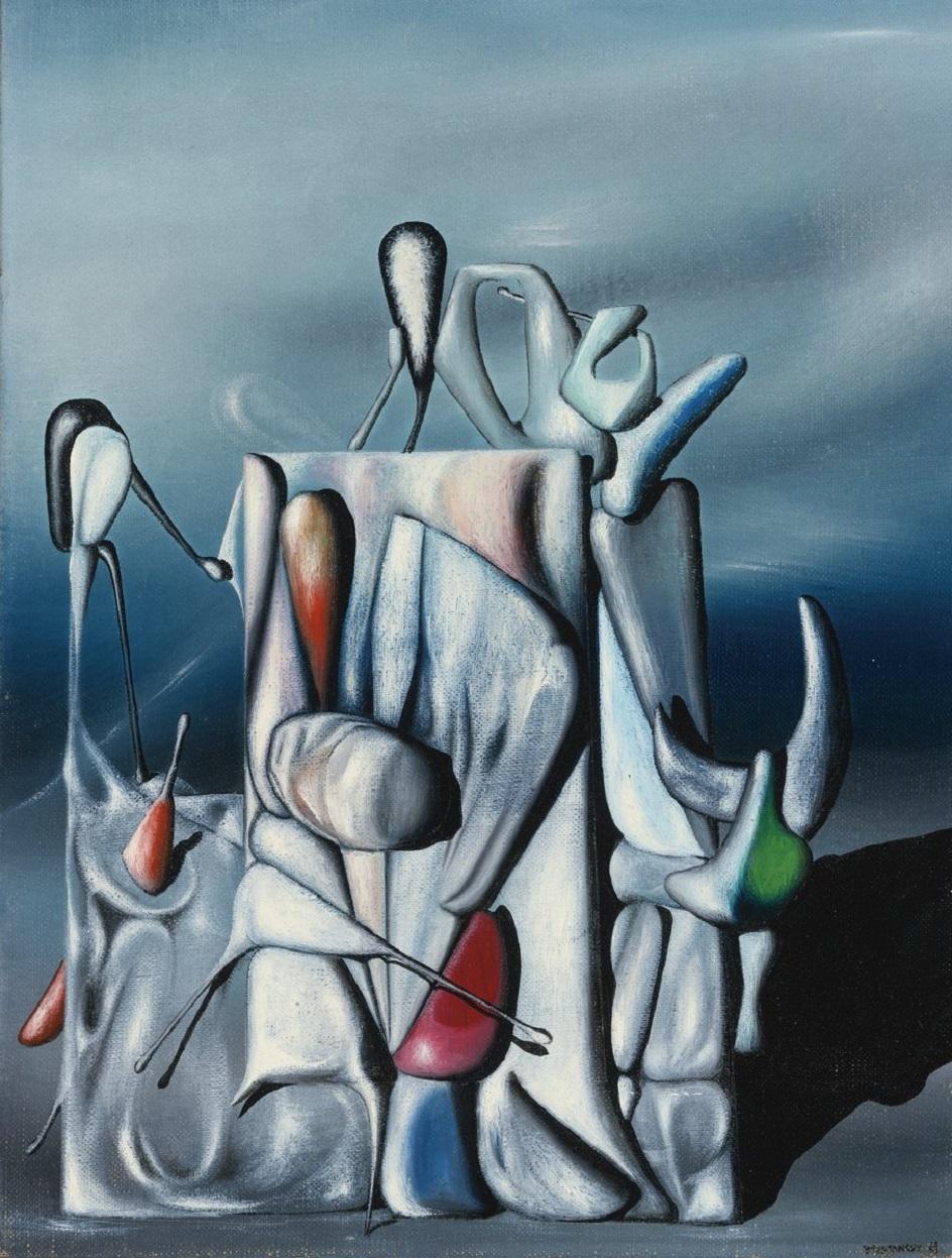 Сюрреализм. Ив Танги. «Забвение чисел»