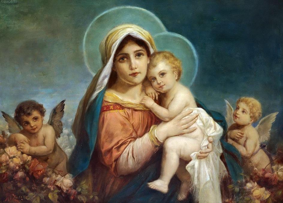 Ханс Зацка. «Мадонна с Младенцем»