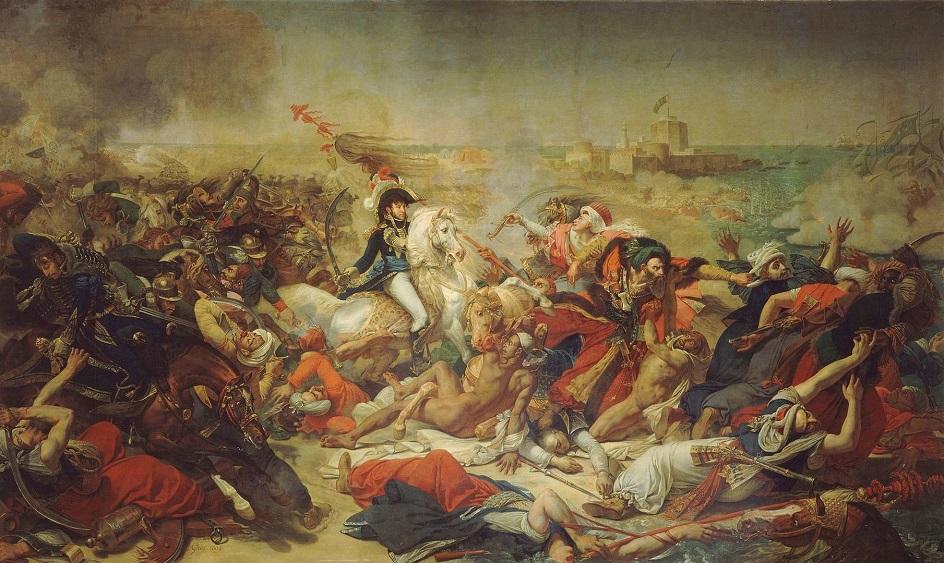 Антуан-Жан Гро. «Мюрат в битве при Абукире»