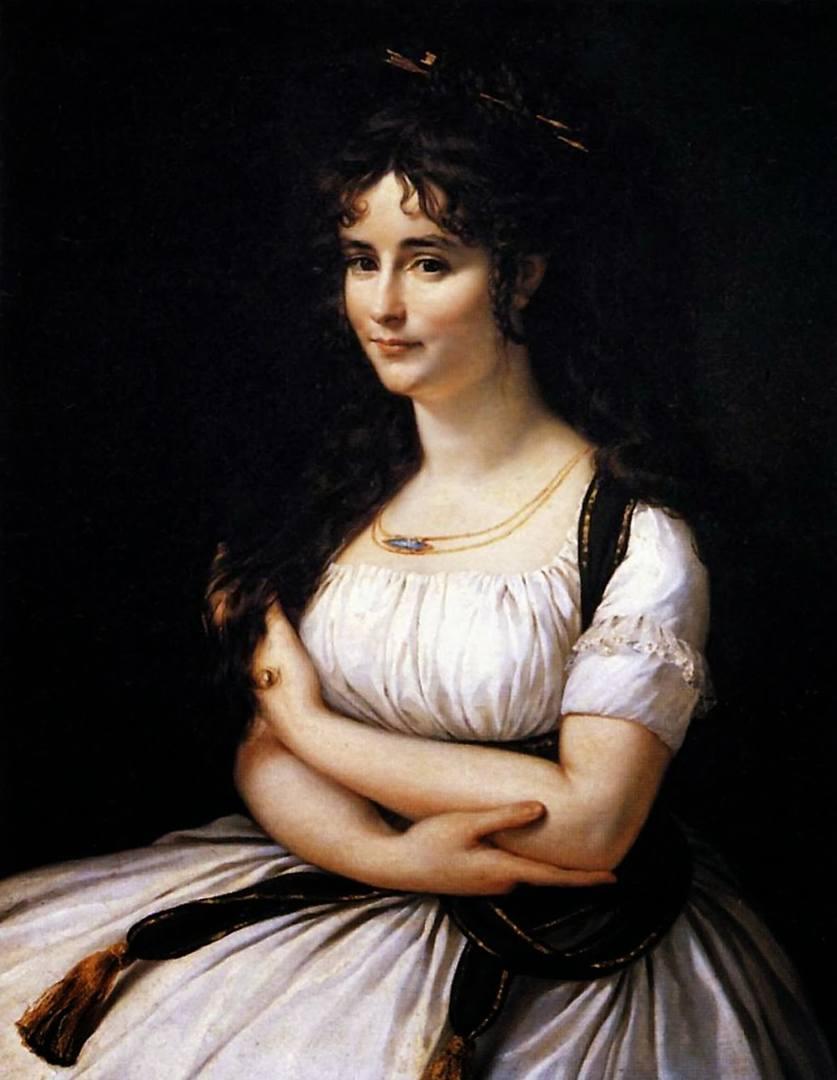 Антуан-Жан Гро. Портрет мадам Постер