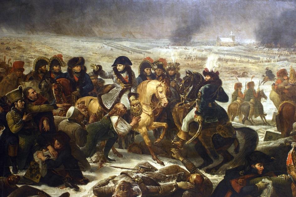 Антуан-Жан Гро. «Наполеон на поле битвы при Прейсиш-Эйлау»