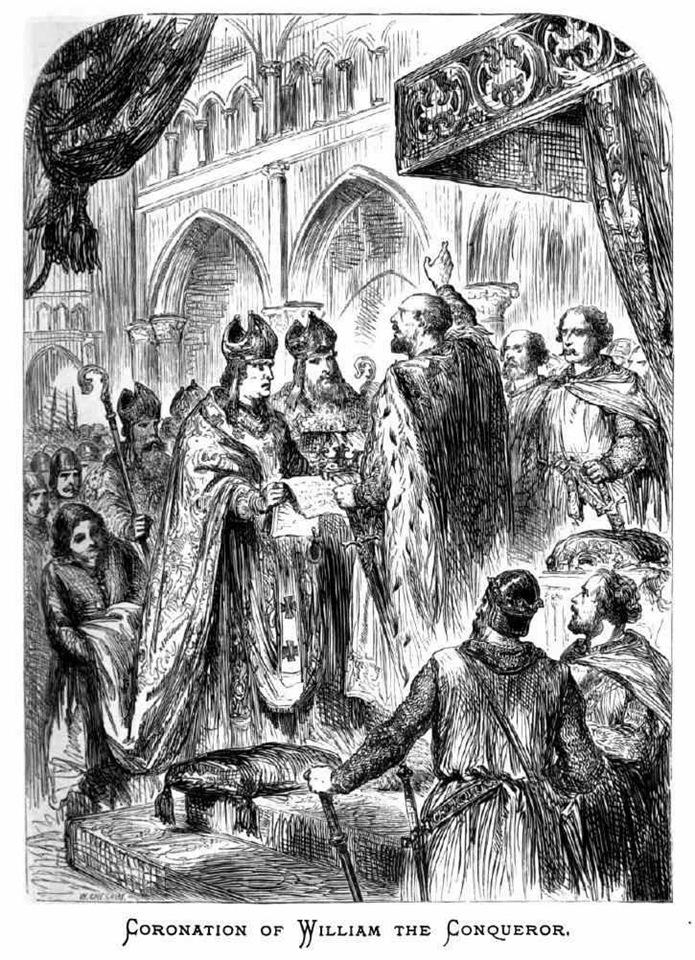 Рождество в Англии. Коронация Вильгельма Завоевателя