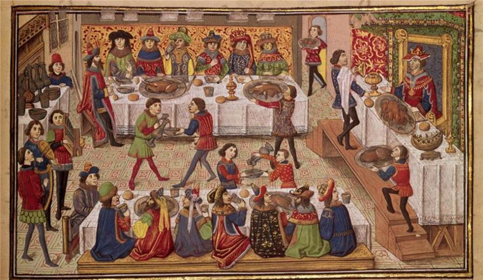 Рождество в Англии. Средневековое пиршество
