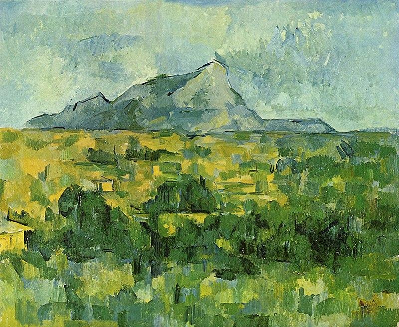 Горный пейзаж. Поль Сезанн. «Гора Сент-Виктуар»