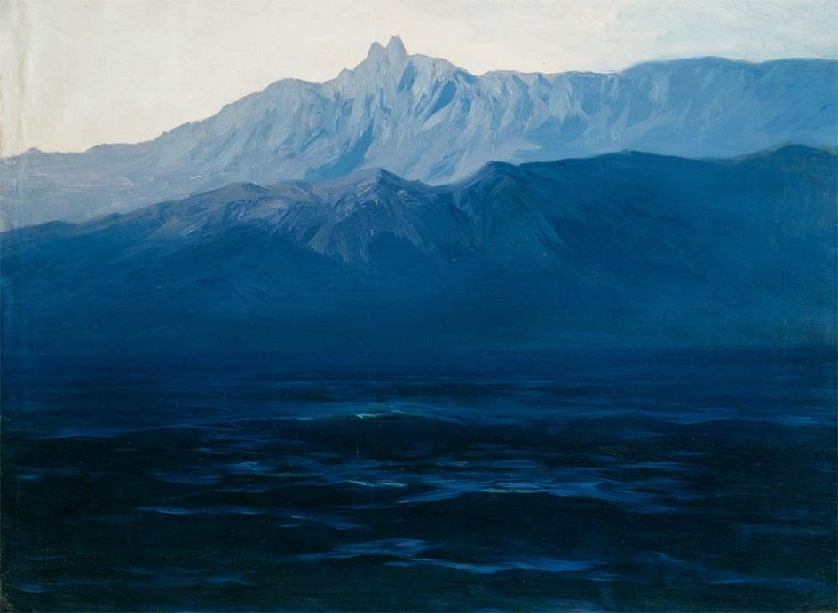 Горный пейзаж. Архип Куинджи. «Ай-Петри. Крым»