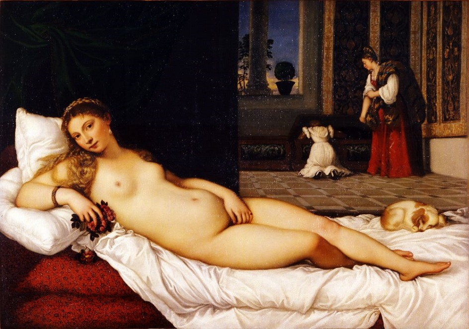 Жанр ню. Тициан. «Венера Урбинская»