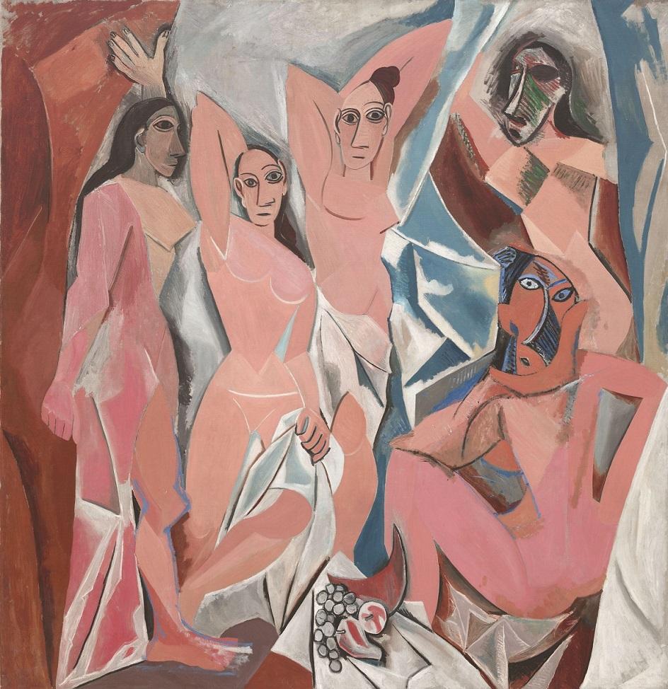 Ню в живописи. Пабло Пикассо. «Авиньонские девицы»