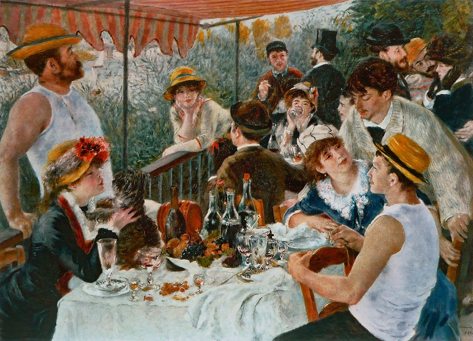 Огюст Ренуар. Картина «Завтрак гребцов», 1881