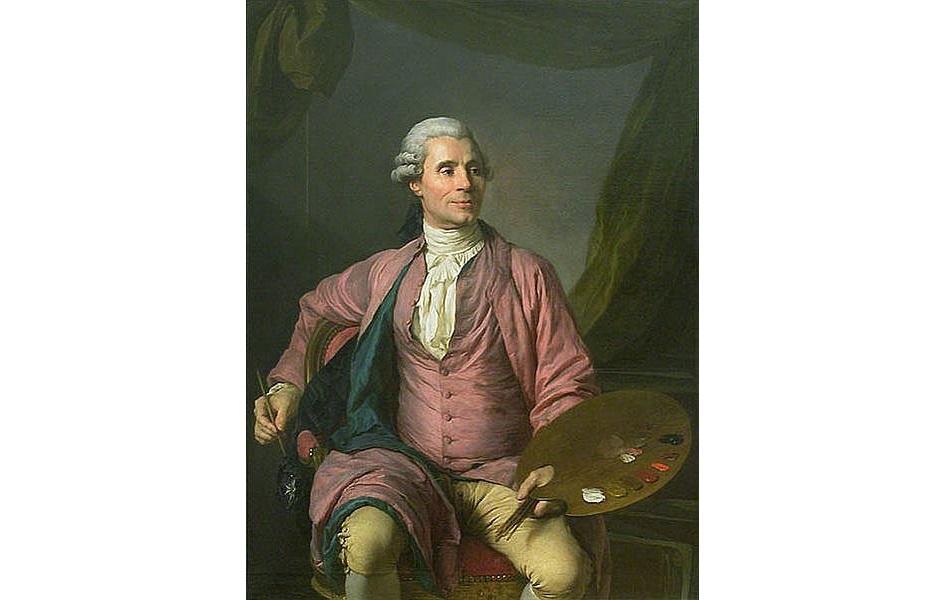 Жозеф-Мари Вьен. Жозеф-Сифрен Дюплесси. Картина «Портрет Жозефа-Мари Вьена», 1784