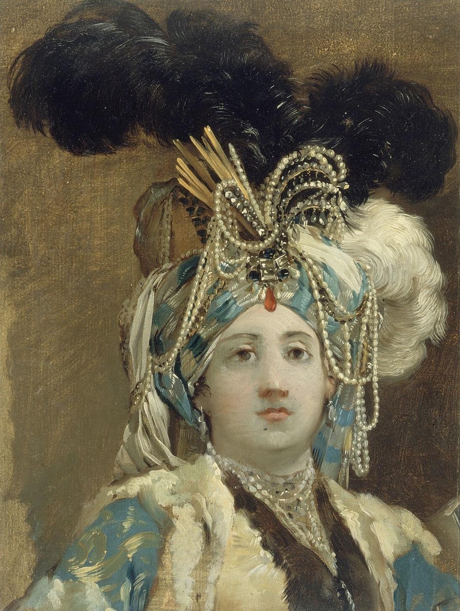 Жозеф-Мари Вьен. Картина «Султанша», 1748