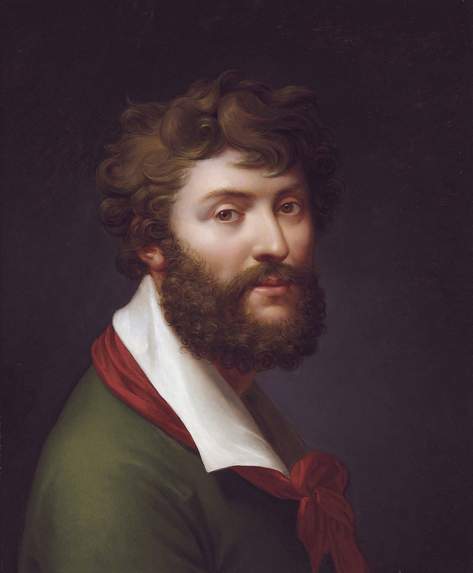 Жан-Батист Реньо. Картина «Автопортрет», конец XVIII века