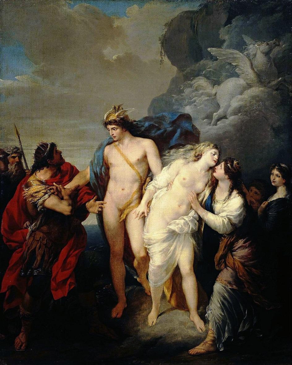 Жан-Батист Реньо. Картина «Персей освобождает Андромеду», 1782
