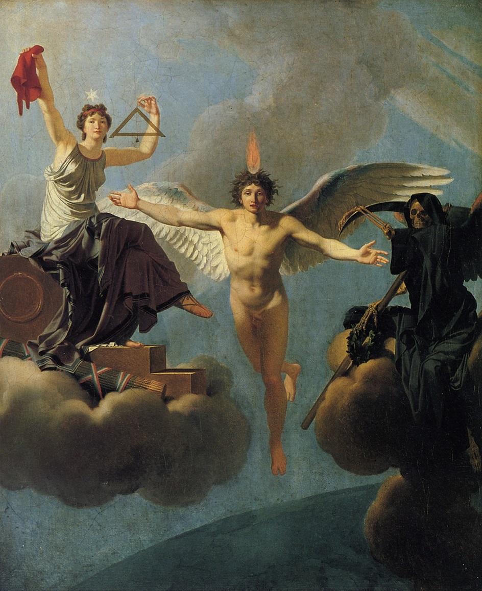 Жан-Батист Реньо. Картина «Свобода или смерть», 1795