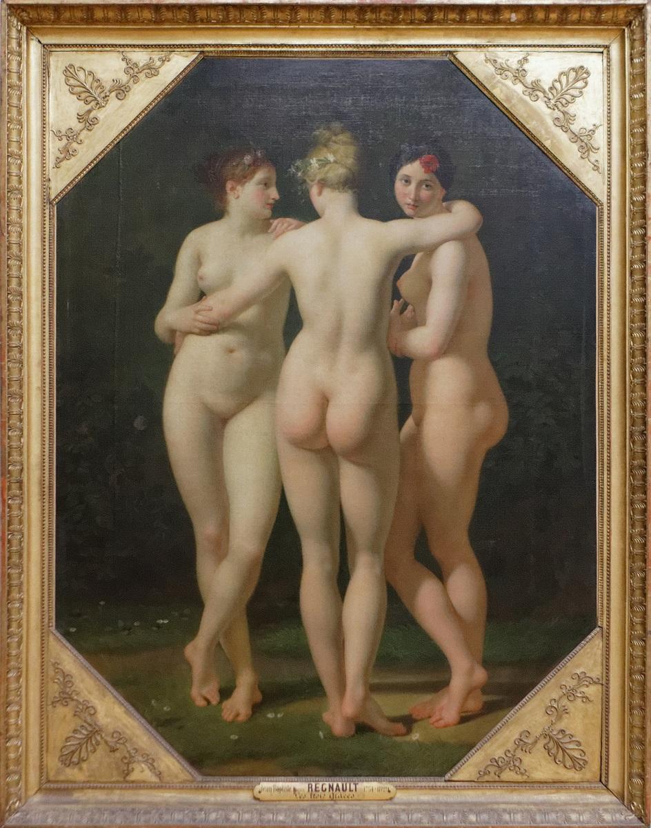 Жан-Батист Реньо. Картина «Три грации», 1794