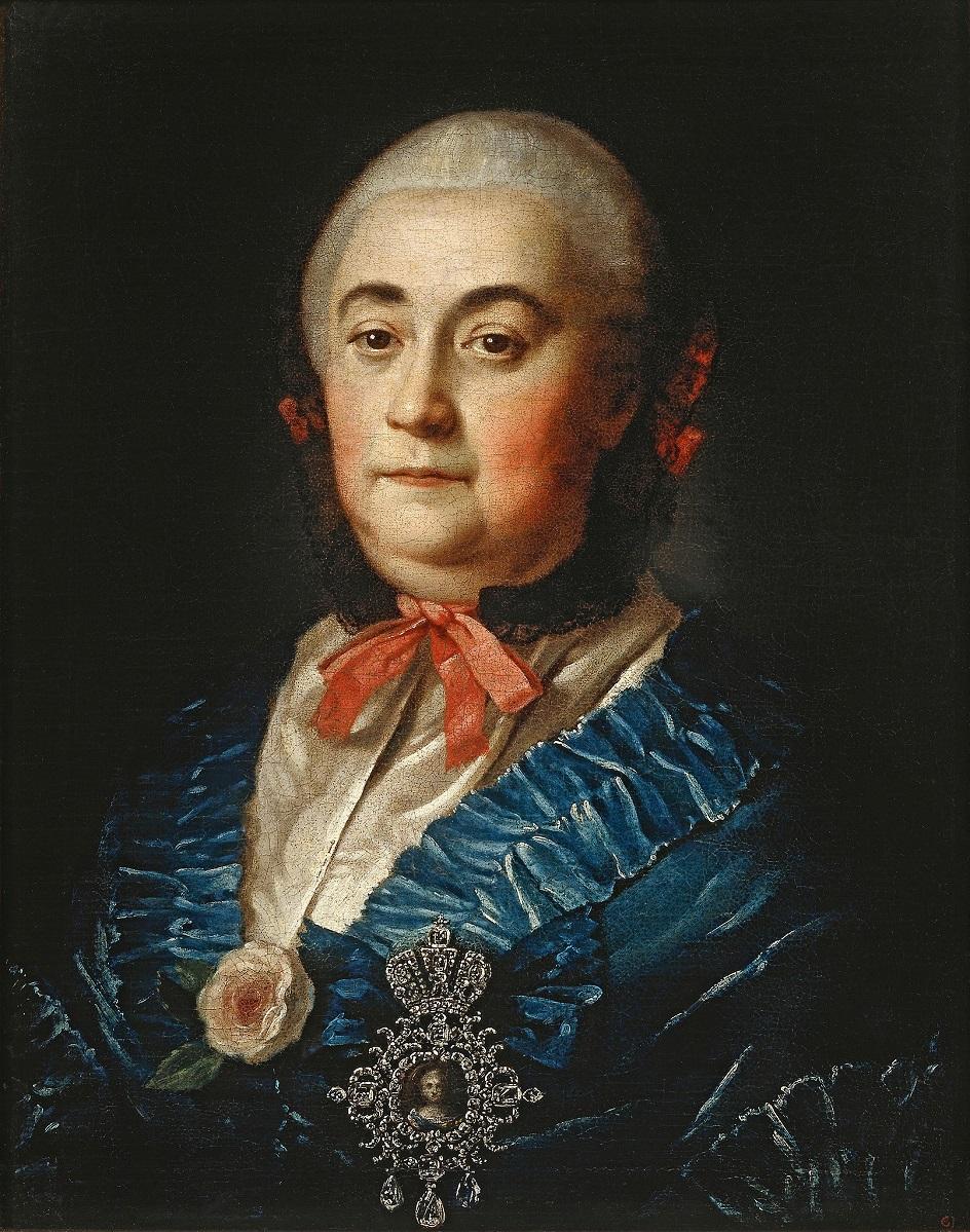 Алексей Антропов. Петр Дрождин. Картина «Портрет А. М. Измайловой», 1759