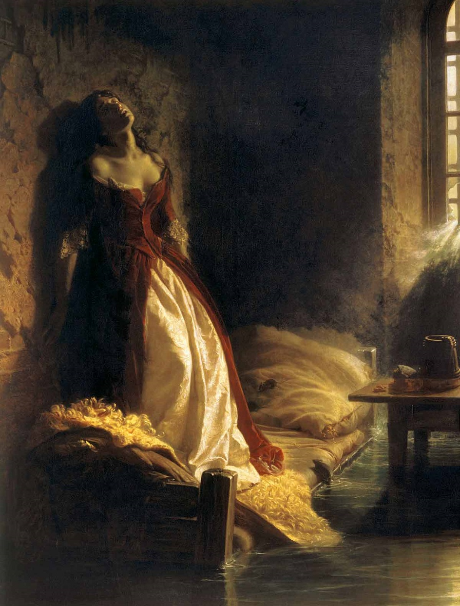 Константин Флавицкий. Картина «Княжна Тараканова», 1864