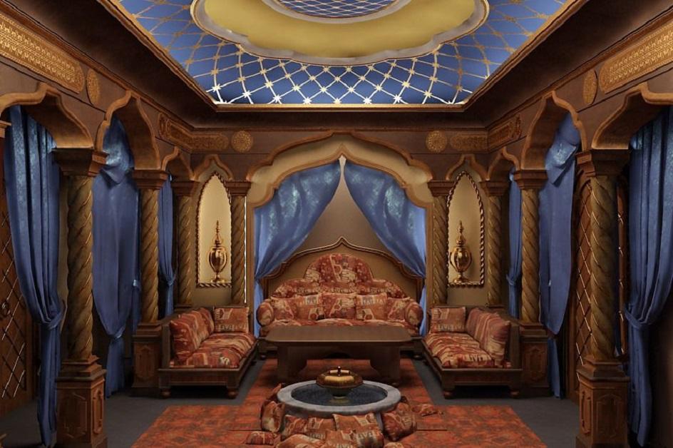 Османский стиль в интерьере. Интерьер комнаты в османском стиле
