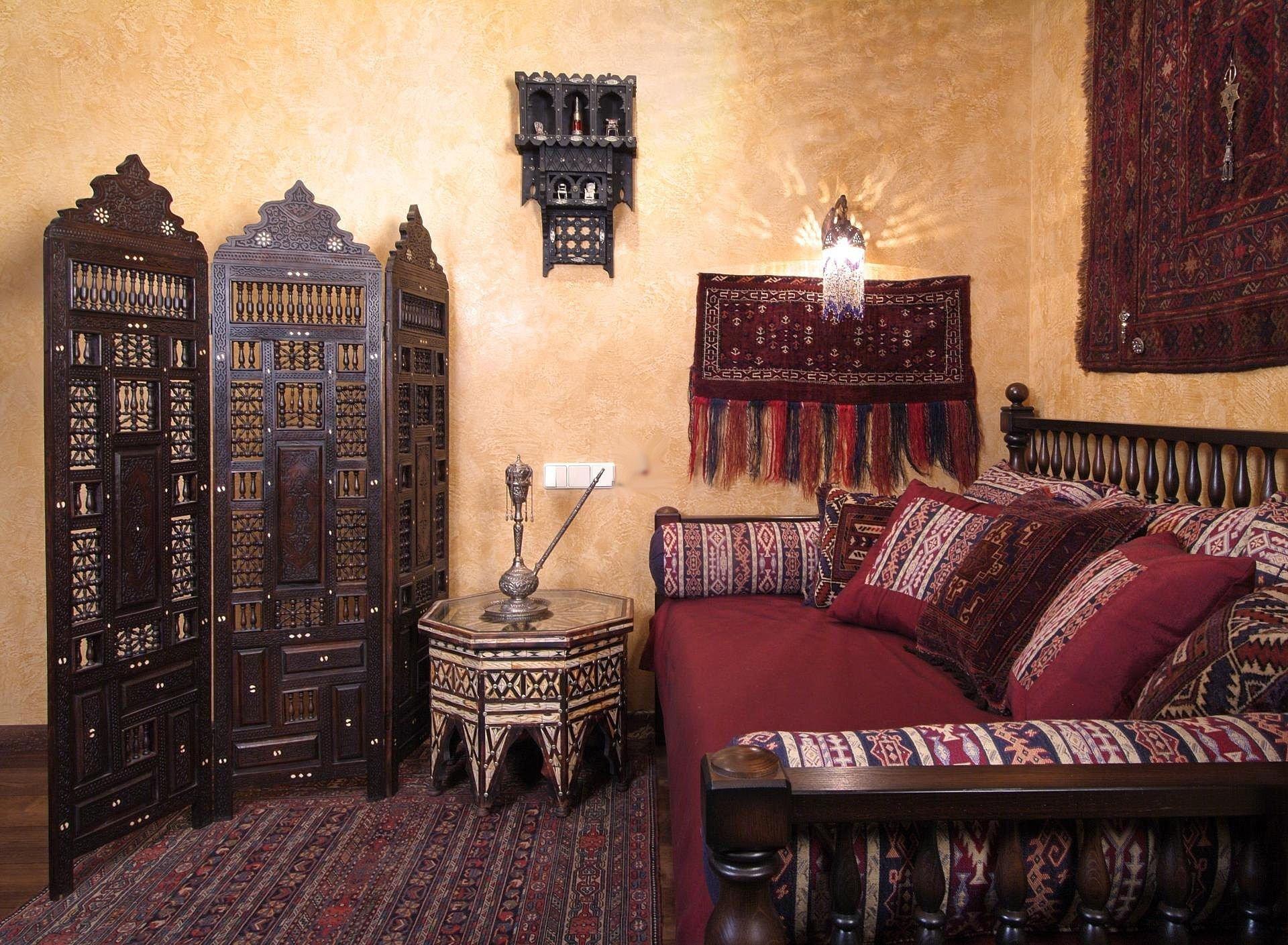Османский стиль в интерьере. Интерьер дома в османском стиле