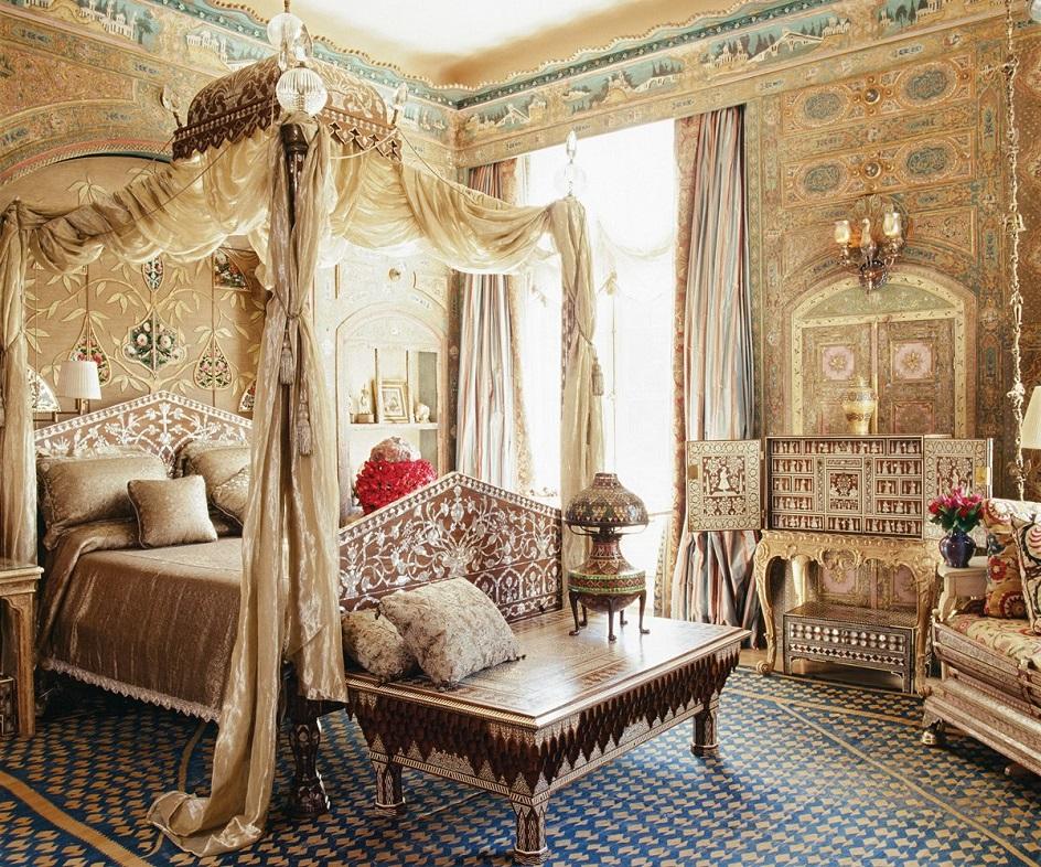 Османский стиль в интерьере. Интерьер спальни в османском стиле