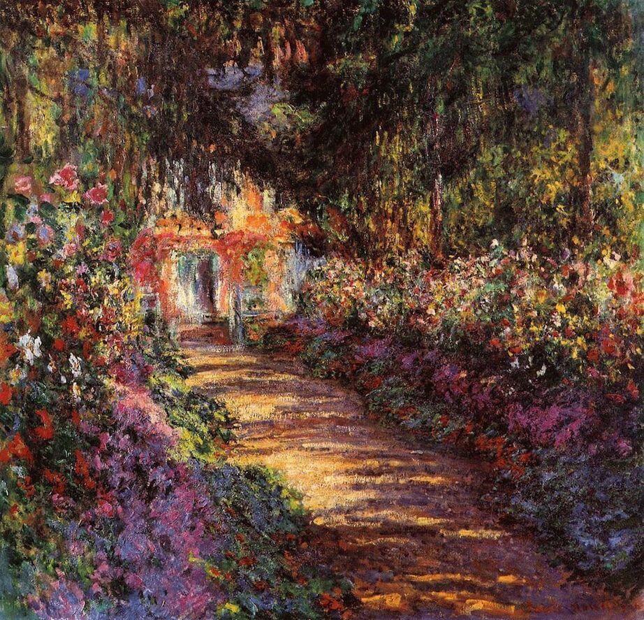 Клод Моне «Дорожка в саду художника»
